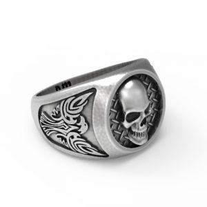 Eagle Metal Skull