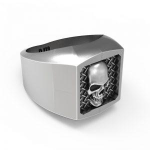 Signet Metal Skull